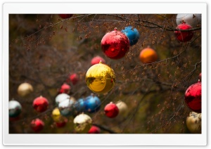 Christmas Decorations HD Wide Wallpaper for Widescreen