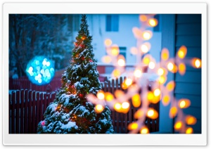 Christmas Eve HD Wide Wallpaper for Widescreen
