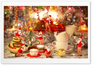 Christmas Fun HD Wide Wallpaper for 4K UHD Widescreen desktop & smartphone