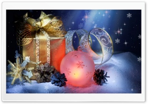 Christmas Gift HD Wide Wallpaper for Widescreen