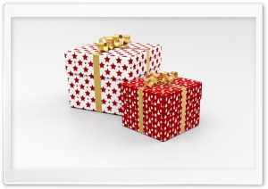 Christmas Gifts HD Wide Wallpaper for Widescreen