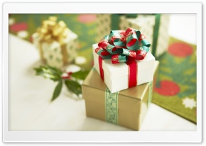 Christmas Gifts 2011 HD Wide Wallpaper for Widescreen