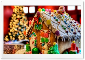Christmas Gingerbread HD Wide Wallpaper for Widescreen