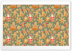 Christmas Gingerbread Ultra HD Wallpaper for 4K UHD Widescreen desktop, tablet & smartphone