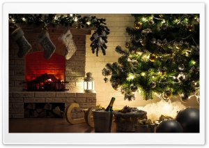 Christmas Home HD Wide Wallpaper for Widescreen