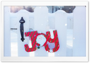 Christmas Joy HD Wide Wallpaper for Widescreen