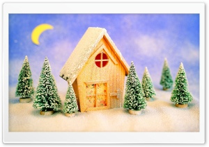 Christmas Landscape HD Wide Wallpaper for Widescreen