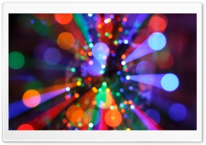 Christmas Lights HD Wide Wallpaper for Widescreen