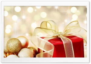 Christmas Present HD Wide Wallpaper for Widescreen