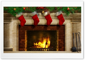 Christmas Present Socks HD Wide Wallpaper for Widescreen