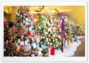 Christmas Shopping HD Wide Wallpaper for Widescreen