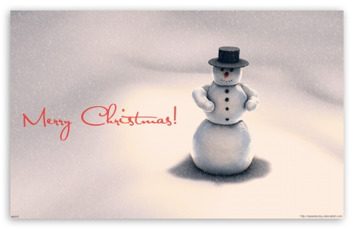 Christmas Snowman HD wallpaper for Wide 16:10 5:3 Widescreen WHXGA WQXGA WUXGA WXGA WGA ; HD 16:9 High Definition WQHD QWXGA 1080p 900p 720p QHD nHD ; Mobile 5:3 16:9 - WGA WQHD QWXGA 1080p 900p 720p QHD nHD ;