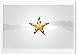 Christmas Star Silver HD Wide Wallpaper for Widescreen