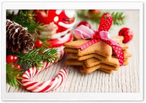 Christmas Sweets HD Wide Wallpaper for Widescreen