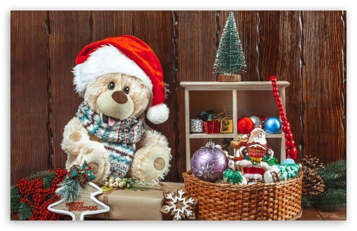 Christmas, Teddy Bear, Toys, Gifts UltraHD Wallpaper for Wide 16:10 5:3 Widescreen WHXGA WQXGA WUXGA WXGA WGA ; 8K UHD TV 16:9 Ultra High Definition 2160p 1440p 1080p 900p 720p ; UHD 16:9 2160p 1440p 1080p 900p 720p ; Standard 4:3 5:4 3:2 Fullscreen UXGA XGA SVGA QSXGA SXGA DVGA HVGA HQVGA ( Apple PowerBook G4 iPhone 4 3G 3GS iPod Touch ) ; iPad 1/2/Mini ; Mobile 4:3 5:3 3:2 16:9 5:4 - UXGA XGA SVGA WGA DVGA HVGA HQVGA ( Apple PowerBook G4 iPhone 4 3G 3GS iPod Touch ) 2160p 1440p 1080p 900p 720p QSXGA SXGA ;