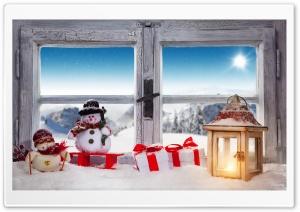 Christmas Town Ultra HD Wallpaper for 4K UHD Widescreen desktop, tablet & smartphone