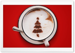 Christmas Tree Cappuccino Ultra HD Wallpaper for 4K UHD Widescreen desktop, tablet & smartphone