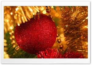 Christmas Tree Close Up HD Wide Wallpaper for Widescreen