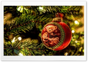 Christmas Tree Decorations HD Wide Wallpaper for Widescreen