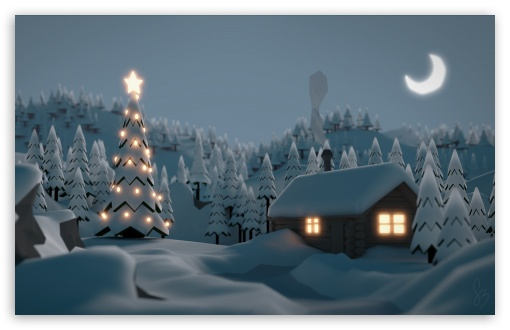 christmas_tree_house-t2 - Beautiful Christmas Tree - Photos Unlimited