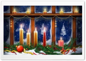Christmas Warmth HD Wide Wallpaper for Widescreen