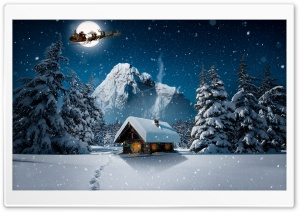 Christmas Winter 4K Ultra HD Wallpaper for 4K UHD Widescreen desktop, tablet & smartphone