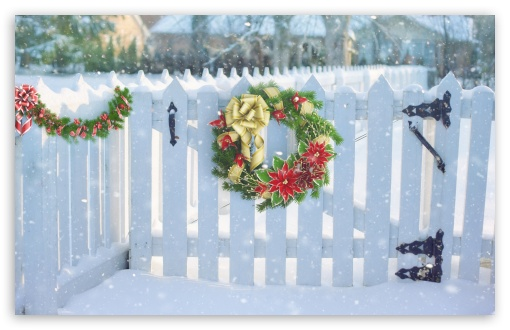 Christmas Wreath On White Fence ❤ 4K UHD Wallpaper for Wide 16:10 5:3 Widescreen WHXGA WQXGA WUXGA WXGA WGA ; UltraWide 21:9 24:10 ; 4K UHD 16:9 Ultra High Definition 2160p 1440p 1080p 900p 720p ; UHD 16:9 2160p 1440p 1080p 900p 720p ; Standard 5:4 3:2 Fullscreen QSXGA SXGA DVGA HVGA HQVGA ( Apple PowerBook G4 iPhone 4 3G 3GS iPod Touch ) ; Smartphone 16:9 3:2 5:3 2160p 1440p 1080p 900p 720p DVGA HVGA HQVGA ( Apple PowerBook G4 iPhone 4 3G 3GS iPod Touch ) WGA ; iPad 1/2/Mini ; Mobile 4:3 5:3 3:2 16:9 5:4 - UXGA XGA SVGA WGA DVGA HVGA HQVGA ( Apple PowerBook G4 iPhone 4 3G 3GS iPod Touch ) 2160p 1440p 1080p 900p 720p QSXGA SXGA ; Dual 16:10 5:3 16:9 4:3 5:4 3:2 WHXGA WQXGA WUXGA WXGA WGA 2160p 1440p 1080p 900p 720p UXGA XGA SVGA QSXGA SXGA DVGA HVGA HQVGA ( Apple PowerBook G4 iPhone 4 3G 3GS iPod Touch ) ; Triple 4:3 5:4 UXGA XGA SVGA QSXGA SXGA ;