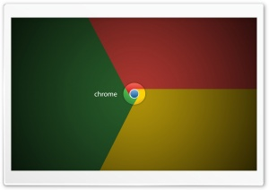 Chrome Logo HD Wide Wallpaper for Widescreen