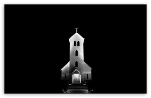 Church at Night, Iceland HD wallpaper for Wide 16:10 5:3 Widescreen WHXGA WQXGA WUXGA WXGA WGA ; HD 16:9 High Definition WQHD QWXGA 1080p 900p 720p QHD nHD ; Standard 4:3 5:4 3:2 Fullscreen UXGA XGA SVGA QSXGA SXGA DVGA HVGA HQVGA devices ( Apple PowerBook G4 iPhone 4 3G 3GS iPod Touch ) ; Tablet 1:1 ; iPad 1/2/Mini ; Mobile 4:3 5:3 3:2 16:9 5:4 - UXGA XGA SVGA WGA DVGA HVGA HQVGA devices ( Apple PowerBook G4 iPhone 4 3G 3GS iPod Touch ) WQHD QWXGA 1080p 900p 720p QHD nHD QSXGA SXGA ;