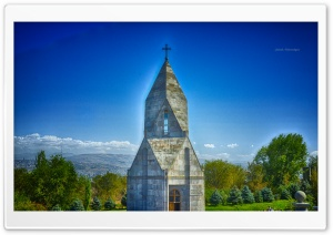 Church HDR HD Wide Wallpaper for Widescreen