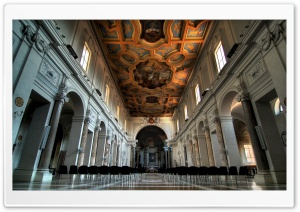 Church in Rome HD Wide Wallpaper for Widescreen