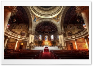 Church In Stanford HD Wide Wallpaper for 4K UHD Widescreen desktop & smartphone