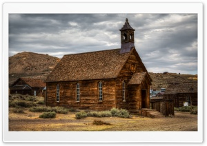 Church of Bodie HD Wide Wallpaper for Widescreen