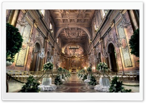 Church Wedding Ceremony HD Wide Wallpaper for Widescreen