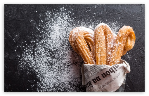 Churros UltraHD Wallpaper for Wide 16:10 5:3 Widescreen WHXGA WQXGA WUXGA WXGA WGA ; UltraWide 21:9 24:10 ; 8K UHD TV 16:9 Ultra High Definition 2160p 1440p 1080p 900p 720p ; UHD 16:9 2160p 1440p 1080p 900p 720p ; Standard 4:3 5:4 3:2 Fullscreen UXGA XGA SVGA QSXGA SXGA DVGA HVGA HQVGA ( Apple PowerBook G4 iPhone 4 3G 3GS iPod Touch ) ; Smartphone 16:9 3:2 5:3 2160p 1440p 1080p 900p 720p DVGA HVGA HQVGA ( Apple PowerBook G4 iPhone 4 3G 3GS iPod Touch ) WGA ; Tablet 1:1 ; iPad 1/2/Mini ; Mobile 4:3 5:3 3:2 16:9 5:4 - UXGA XGA SVGA WGA DVGA HVGA HQVGA ( Apple PowerBook G4 iPhone 4 3G 3GS iPod Touch ) 2160p 1440p 1080p 900p 720p QSXGA SXGA ; Dual 16:10 5:3 16:9 4:3 5:4 3:2 WHXGA WQXGA WUXGA WXGA WGA 2160p 1440p 1080p 900p 720p UXGA XGA SVGA QSXGA SXGA DVGA HVGA HQVGA ( Apple PowerBook G4 iPhone 4 3G 3GS iPod Touch ) ;