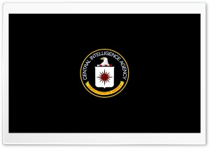 CIA Edited LOGO Ultra HD Wallpaper for 4K UHD Widescreen desktop, tablet & smartphone