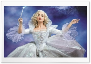Cinderella 2015 Fairy Godmother HD Wide Wallpaper for Widescreen