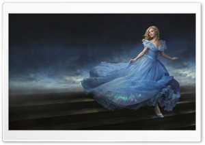 Cinderella 2015 Movie HD Wide Wallpaper for Widescreen