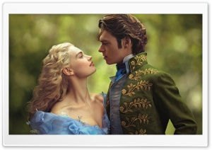Cinderella and Prince 2015 HD Wide Wallpaper for Widescreen