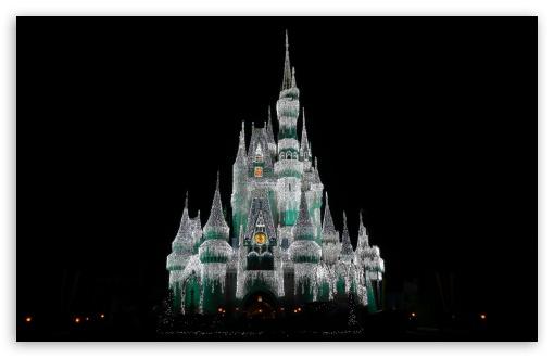 Cinderella Castle At Christmas Ultra Hd Desktop Background Wallpaper For 4k Uhd Tv Widescreen Ultrawide Desktop Laptop Tablet Smartphone