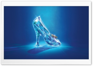 Cinderella Lost Shoe HD Wide Wallpaper for Widescreen