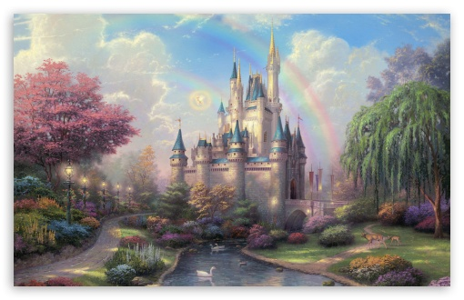 Cinderella's Castle by Thomas Kinkade HD wallpaper for Wide 16:10 5:3 Widescreen WHXGA WQXGA WUXGA WXGA WGA ; HD 16:9 High Definition WQHD QWXGA 1080p 900p 720p QHD nHD ; Standard 4:3 5:4 3:2 Fullscreen UXGA XGA SVGA QSXGA SXGA DVGA HVGA HQVGA devices ( Apple PowerBook G4 iPhone 4 3G 3GS iPod Touch ) ; Tablet 1:1 ; iPad 1/2/Mini ; Mobile 4:3 5:3 3:2 16:9 5:4 - UXGA XGA SVGA WGA DVGA HVGA HQVGA devices ( Apple PowerBook G4 iPhone 4 3G 3GS iPod Touch ) WQHD QWXGA 1080p 900p 720p QHD nHD QSXGA SXGA ; Dual 16:10 5:3 16:9 4:3 5:4 WHXGA WQXGA WUXGA WXGA WGA WQHD QWXGA 1080p 900p 720p QHD nHD UXGA XGA SVGA QSXGA SXGA ;