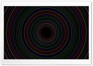 Circle Art HD Wide Wallpaper for Widescreen