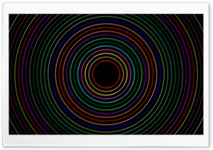 Circle Blur HD Wide Wallpaper for Widescreen