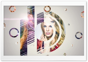Circle of Taylor Swift HD Wide Wallpaper for Widescreen
