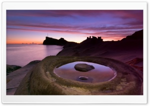 Circle Shaped Stone HD Wide Wallpaper for Widescreen