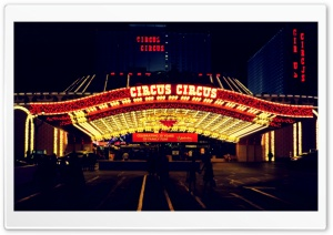 Circus Circus, Las Vegas HD Wide Wallpaper for Widescreen