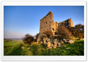 Citadel Ruins Landscape HD Wide Wallpaper for Widescreen