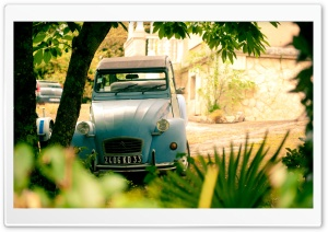 Citroen 2CV   Arcachon, France Ultra HD Wallpaper for 4K UHD Widescreen desktop, tablet & smartphone