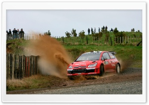 Citroen C4 Rally HD Wide Wallpaper for Widescreen